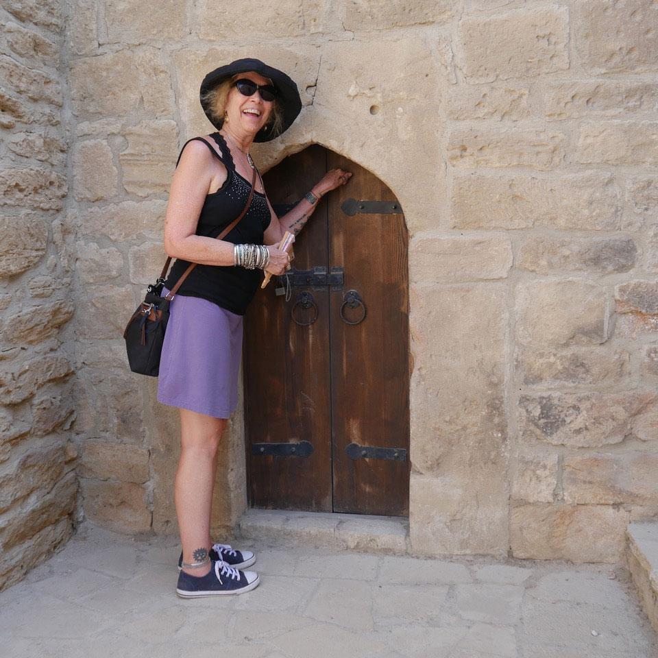 Kathy S. Rice at Feride Buyuran Tours