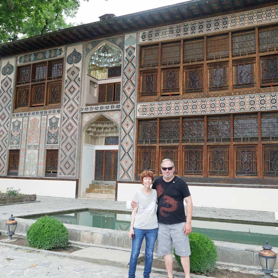 Jude and Woolf Kanter at Feride Buyuran Tours