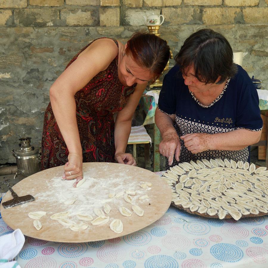 Американские Энтузиасты Совершили Кулинарное Путешествие в Азербайджан
