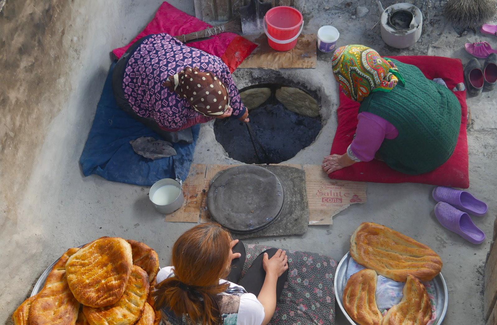 Breadmaking in Azerbaijan