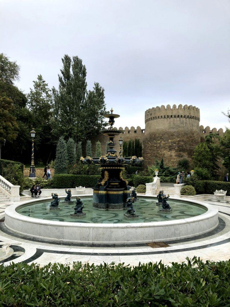 Philarmonia Garden, Baku | Feride Buyuran Tours