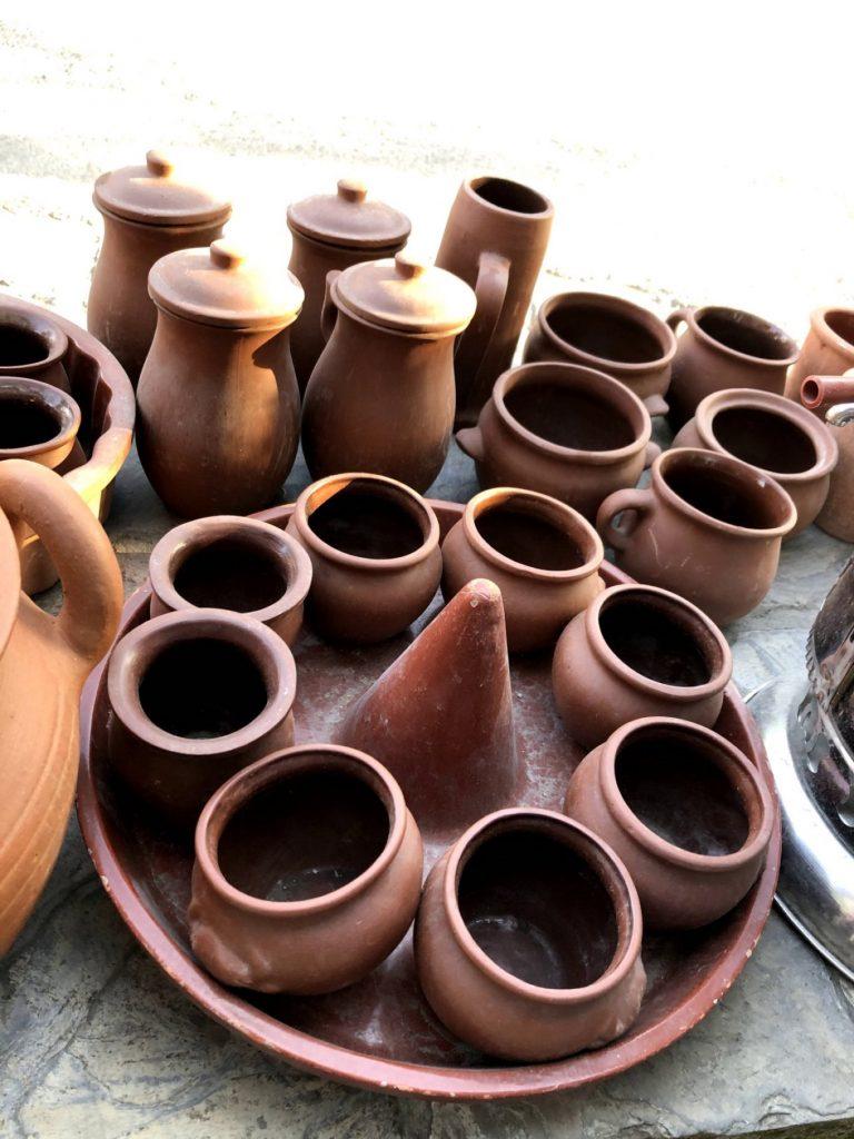 Clay pots in Sheki, Azerbaijan | Feride Buyuran Tours