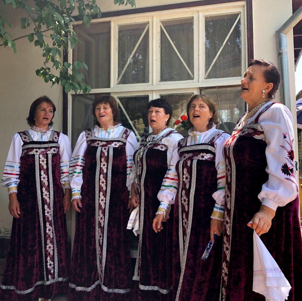 Molokan Russian folk group, Azerbaijan   Feride Buyuran Tours