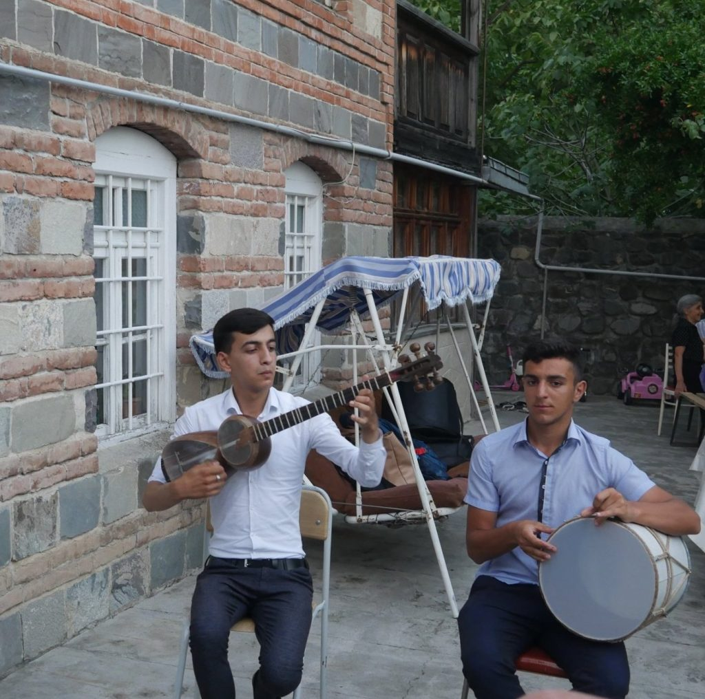 Musicians in Sheki, Azerbaijan   Feride Buyuran Tours
